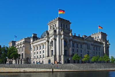 Reichstagsgebäude von außen