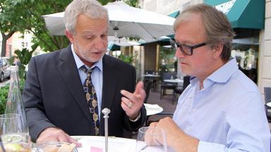 George Carlo und Klaus Scheidsteger