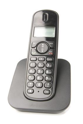 Foto eines DECT-Schnurlostelefons