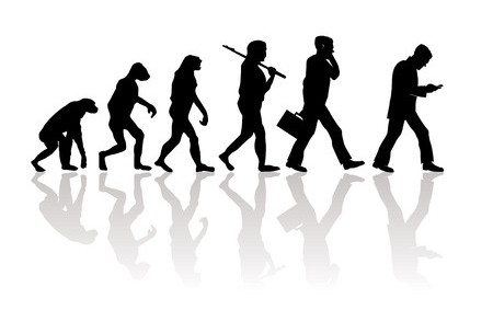 Evolution: Vom Menschen zum Smartphone-Affen