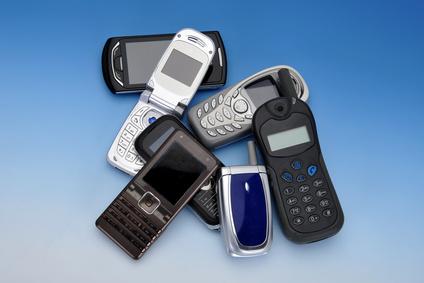 ausgemusterte Handys