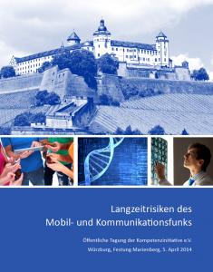 Titel Broschüre Langzeitrisiken des Mobil- und Kommunikationsfunks