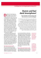 Artikel aus dem MinD-Magazin 106